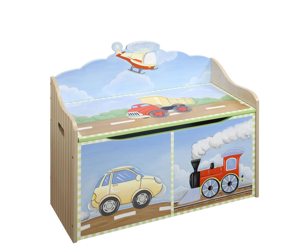 Transport Kids Toy Box