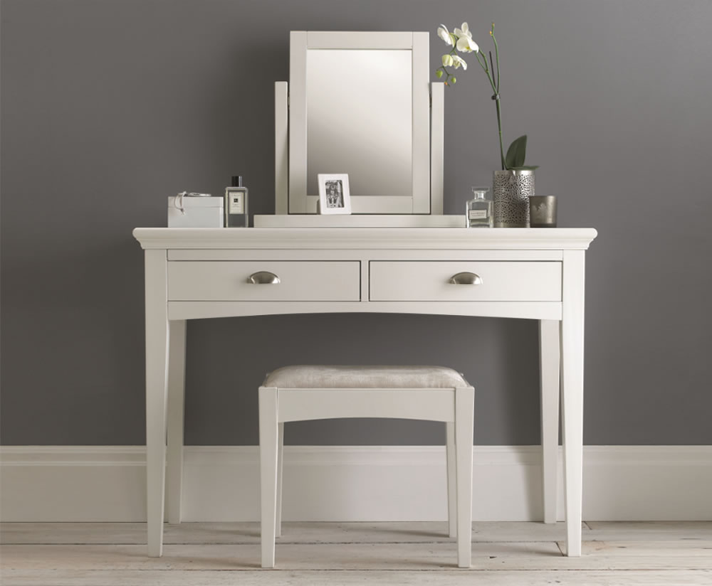 Hampstead White Dressing Table Uk Delivery