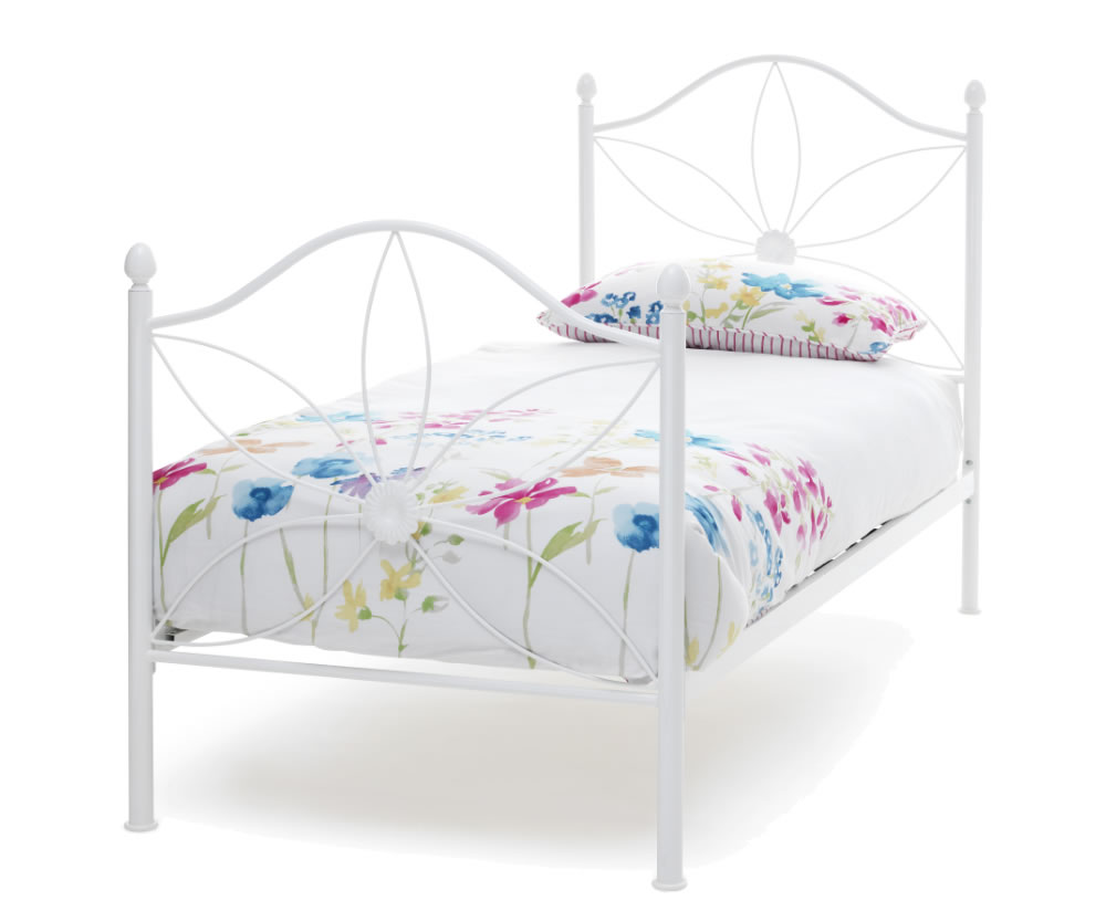 Daisy White Metal Bed Frame Frances Hunt