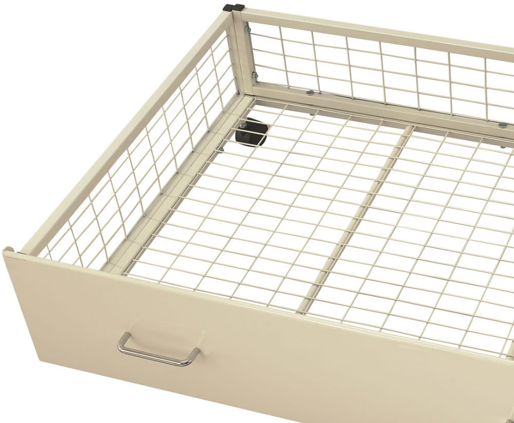 White Metal Toddler Bed Frame
