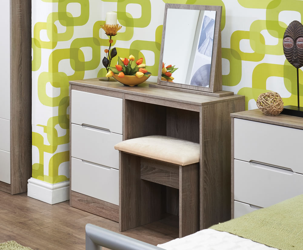 Riviera Mix N Match Single Dressing Table 252 Colour