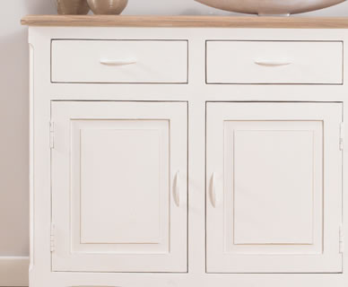Tuscany Acacia and Ivory Sideboard