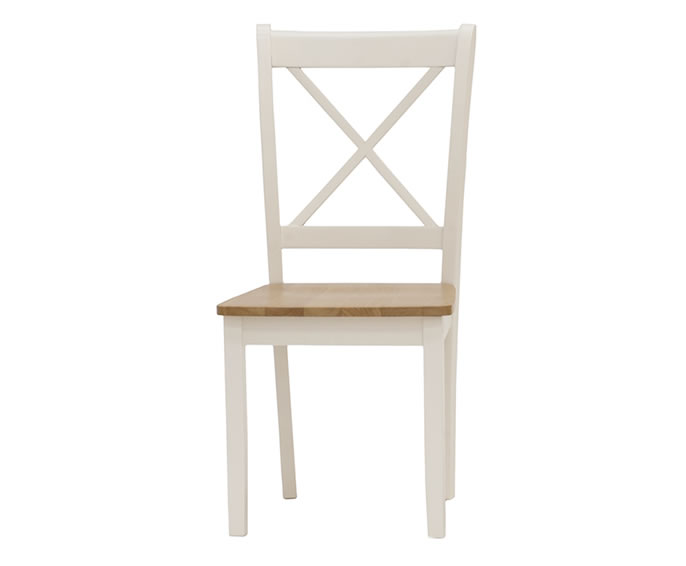 Dover Ivory and Maple Dining Chairs