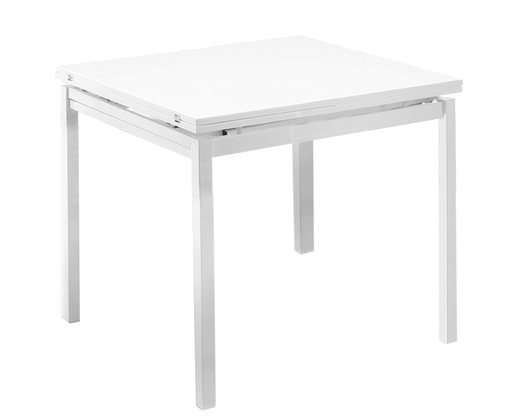 Bordeaux White High Gloss Folding Table Only : 93901 from franceshunt.co.uk size 1000 x 825 jpeg 64kB