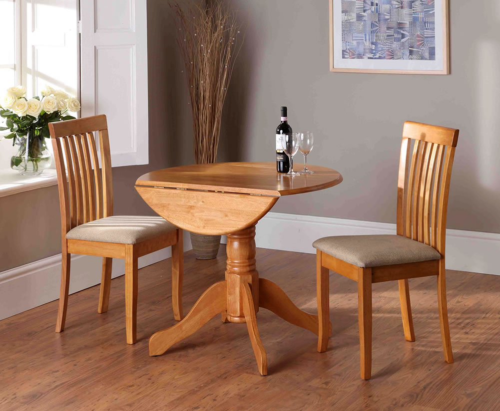 Beacon Honey Drop Leaf Table Chairs
