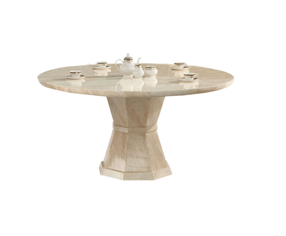 Radleigh marble round dining table uk delivery for Circular dining table