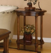 Warsaw Mahogany Lamp Table