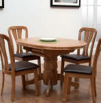 Pearson Maple Extending Dining Table and Chairs