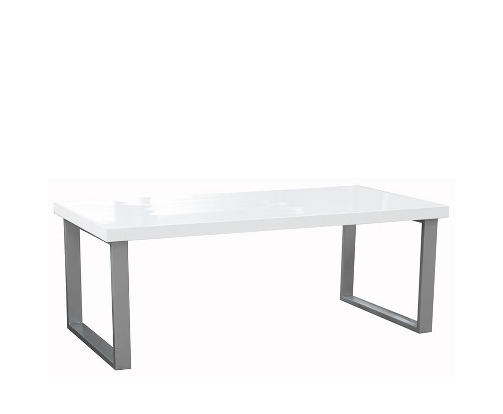 Camden White High Gloss Coffee Table