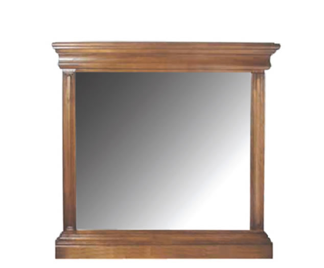 Hermione Antique Oak Wall Mirror