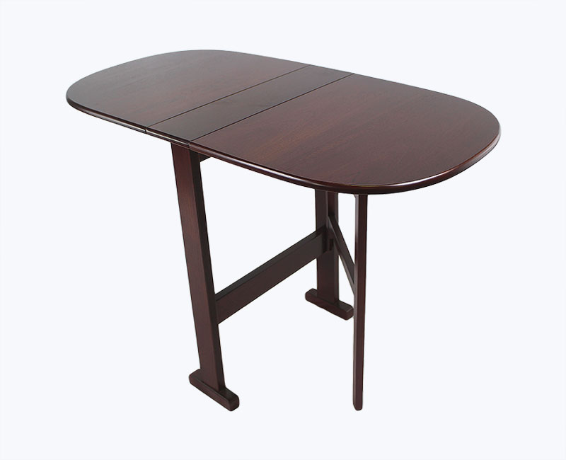 Orchid gateleg dining table only - Gateleg table with folding chairs ...