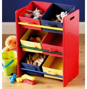 Petit Childrens Tidy Toy Box Unit