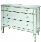 Annaba Mirrored 3 Drawer Chest