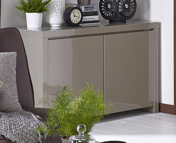 Puro stone high gloss sideboard for Sideboard puro