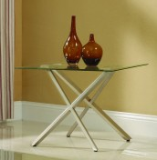 Lloyd Clear Glass Lamp Table