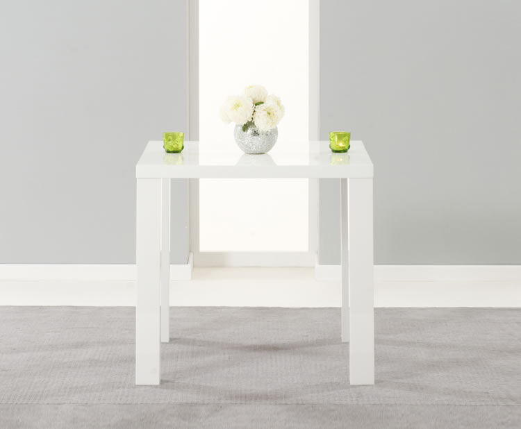 Earlham Small White High Gloss Dining Table Frances Hunt