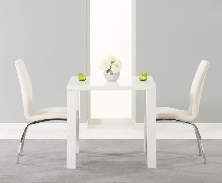 Earlham Small White High Gloss Dining Set Frances Hunt : 99992 from www.franceshunt.co.uk size 745 x 613 jpeg 29kB