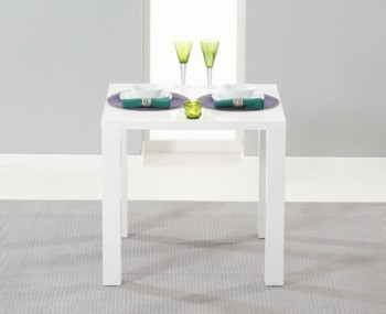 Good Holmes Small White High Gloss Kitchen Table