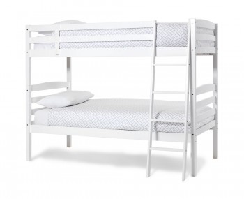 Clarke Hevea Opal White Bunk Bed