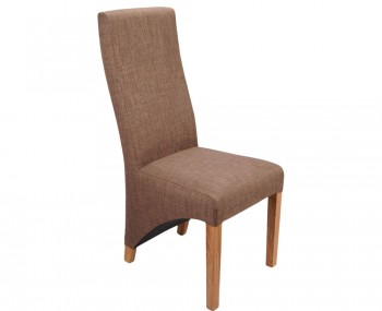 Tenterden Cinnamon Linen Fabric Dining Chairs