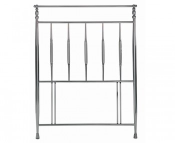 Arden Nickel Metal Headboard