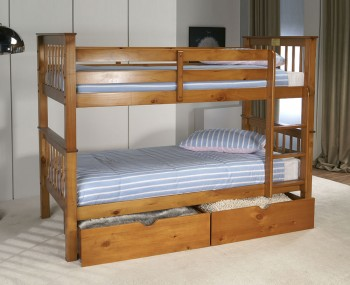 Paulie Pine Bunk Bed