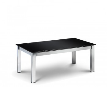 Tempo Black Glass Coffee Table