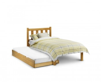 Laurie Antique Pine Guest Bed