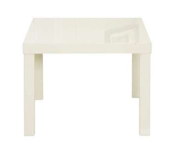 Puro Cream High Gloss Lamp Table
