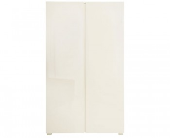 Puro Cream High Gloss 2 Door Wardrobe