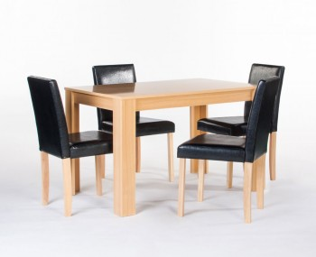 Trinity Oak Dining Table and Chairs