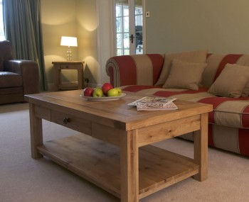 Roche Solid Oak Coffee Table