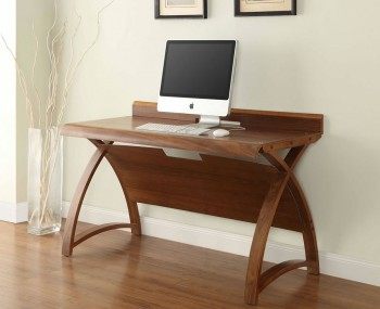 Emmanuel Walnut Large Computer Table