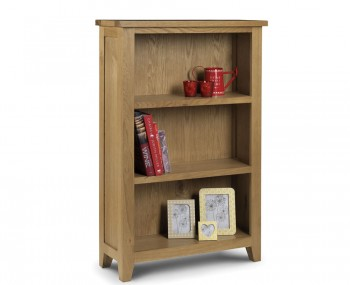 Dexter Oak Low Bookcase