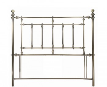 Imperial Brass Metal Headboard