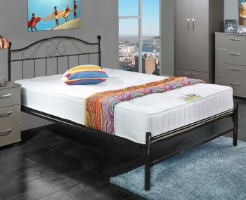 Exmoor Black Metal Bed Frame