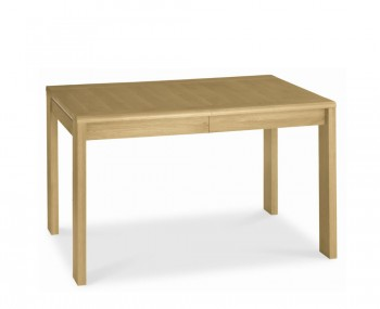 Petra Oak 128cm Extending Dining Table