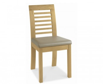 Petra Oak Slatted Dining Chairs