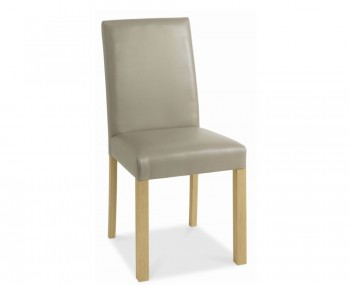 Petra Oak Upholstered Dining Chairs