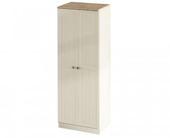 Levante Two-Tone 2 Door Tall Wardrobe
