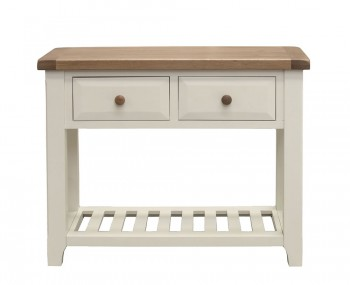 Marne Two-Tone Large Console Table