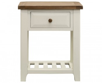 Marne Two-Tone Small Console Table
