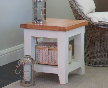 Marne Two-Tone Lamp Table