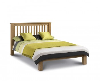 Wiltshire Oak Slatted Low Foot End Bed Frame