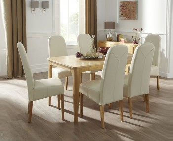 Mursley Oak Dining Table and Chairs