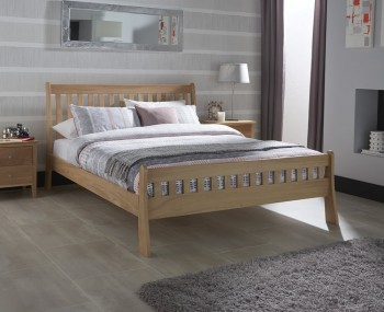 Arlene Oak Bed Frame
