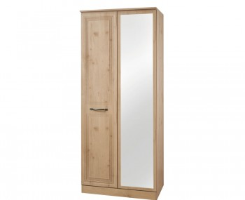 Henlow 2 Door Mirrored Wardrobe