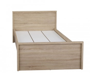 Lotus Oak Bed Frame