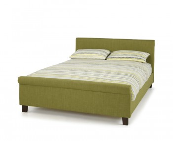 Henri Olive Upholstered Bed