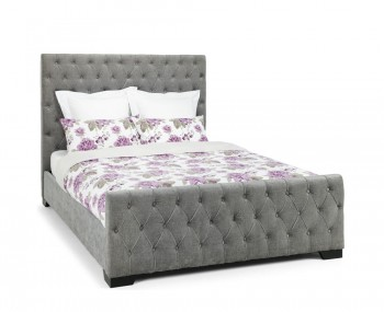 Woodsen Steel Upholstered Boutique Bed